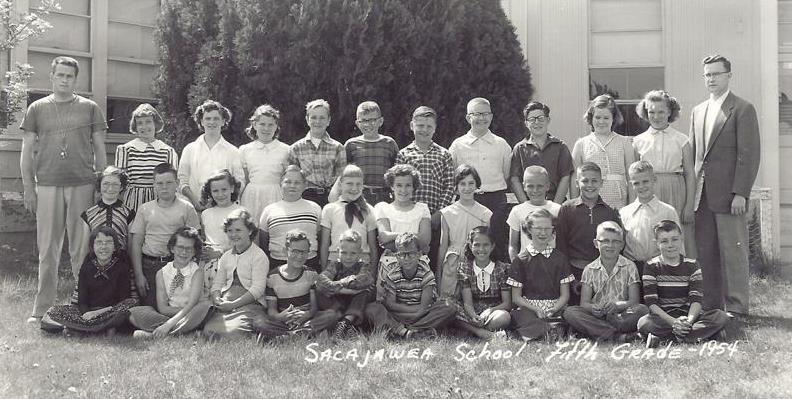 Sacajawea 5th grade 1954