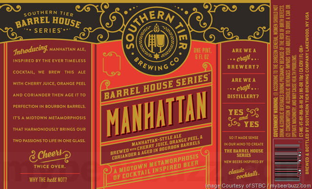 Southern Tier Barrel House Series Manhattan
