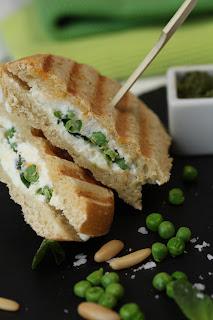 Salade méli mélo très verte  pour l'arrivée du printemps