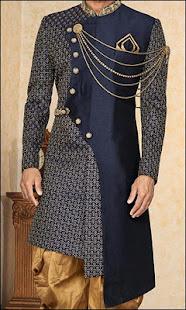 Download Latest Fashion Men Sherwani Photo Suit For PC Windows and Mac apk screenshot 1