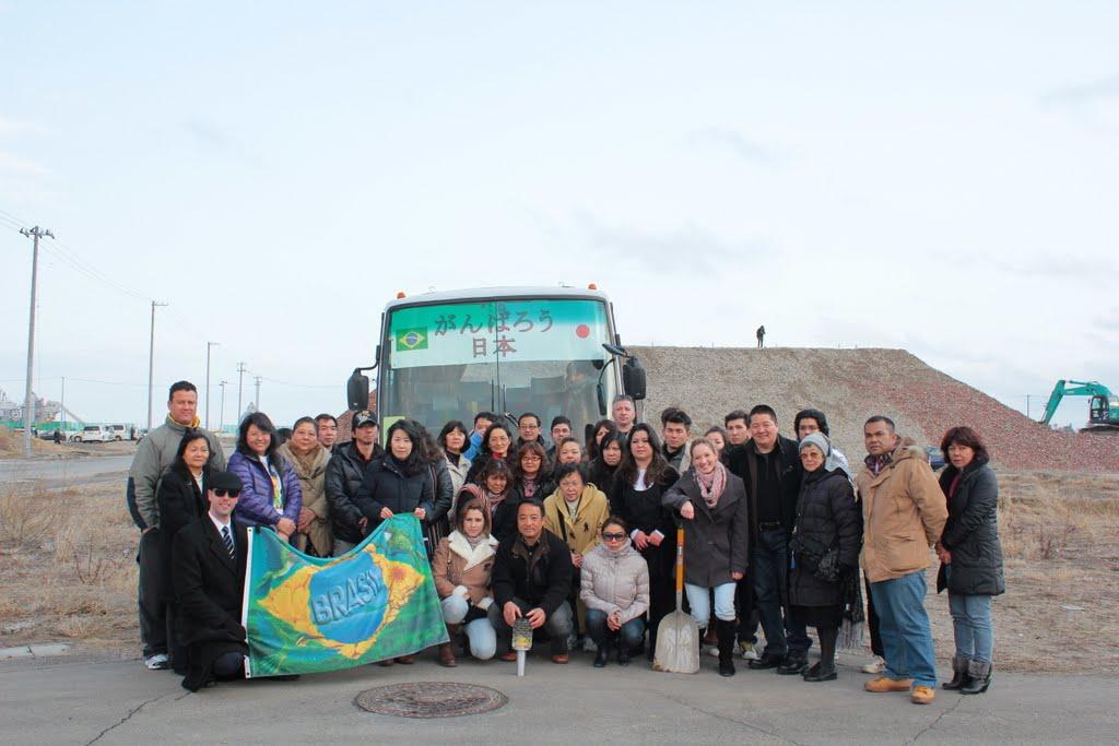 Representantes da Comunidade em Tohoku