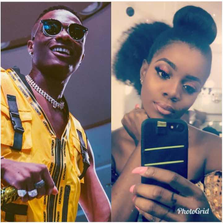 After A Long Term Fight Wizkid's Baby Mama Shola Shows him Love