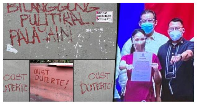 """""""Pro-NPA Vandalism"""", Papaimbestigahan sa Kongreso ng Duterte Youth!"""