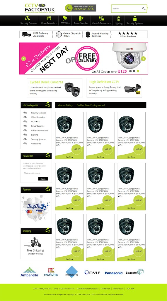 Professional EBay Store Template Custom EBay Store Design Template - Custom ebay store template