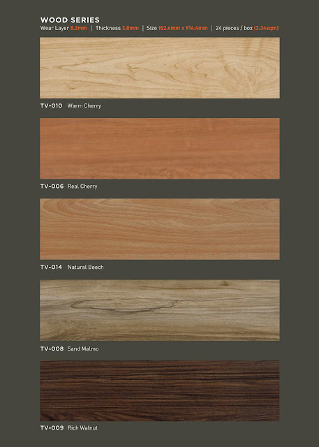 Vinyl taco wood series