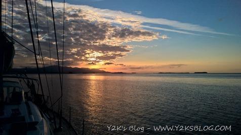 Lo spettacolo del tramonto a Whicubdupbipi
