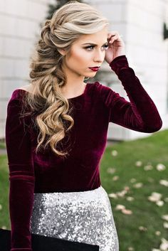 FABULOUS PARTY HAIR STYLES FOR ATTRACTIVE LADIES THROUGH HOLIDAYS 4