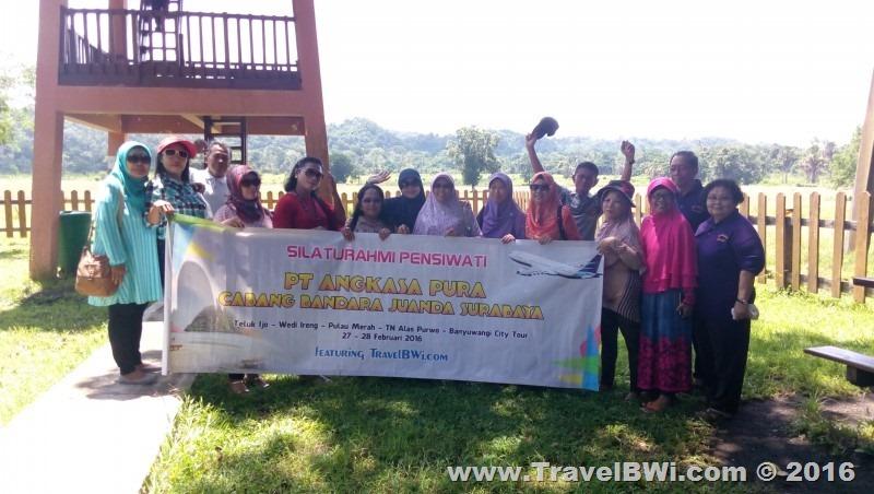 Paket Tour Wisata 2h1m Banyuwangi Selatan - PT Angkasa Pura Juanda Surabaya - Sadengan Alas Purwo