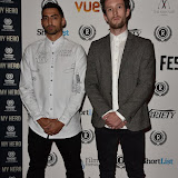 OIC - ENTSIMAGES.COM - Mic Righteous and Daf Evan at the  My Hero Film Premiere at Raindance Film Festival London 25th September 2015 Photo Mobis Photos/OIC 0203 174 1069