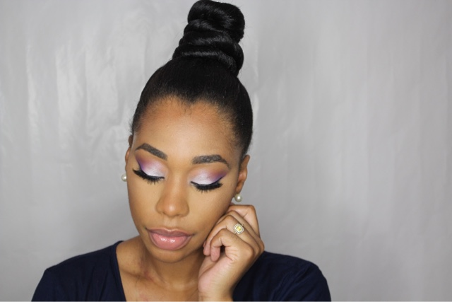 How To Do A Top Knot Bun Hair Tutorial Chimere Nicole