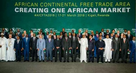 Nigeria absent in the 44 Africa free trade agreement