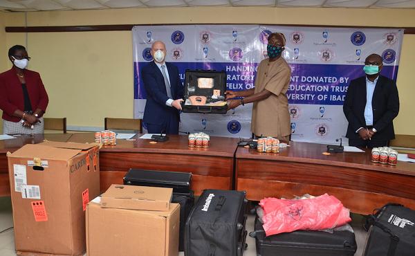 NB donates N42m equipment to UI medical school