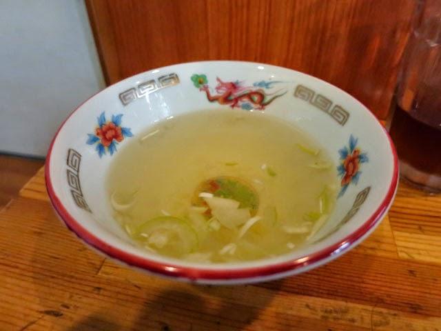 アッサリ目のスープ