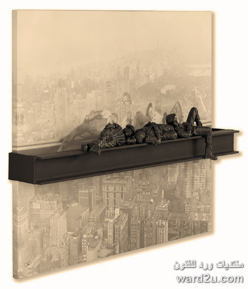 منحوتات ثلاثية الابعاد للفنان Lou Michaels