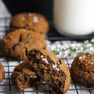 Buckwheat Cardamom Molasses Cookies