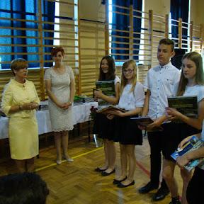 Zakończenie roku szkolnego 2015/2016 - wręczenie nagród