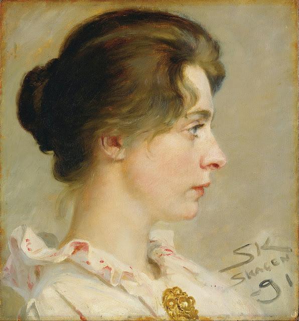 Peder Severin Krøyer - Marie Krøyer - Google Art Project