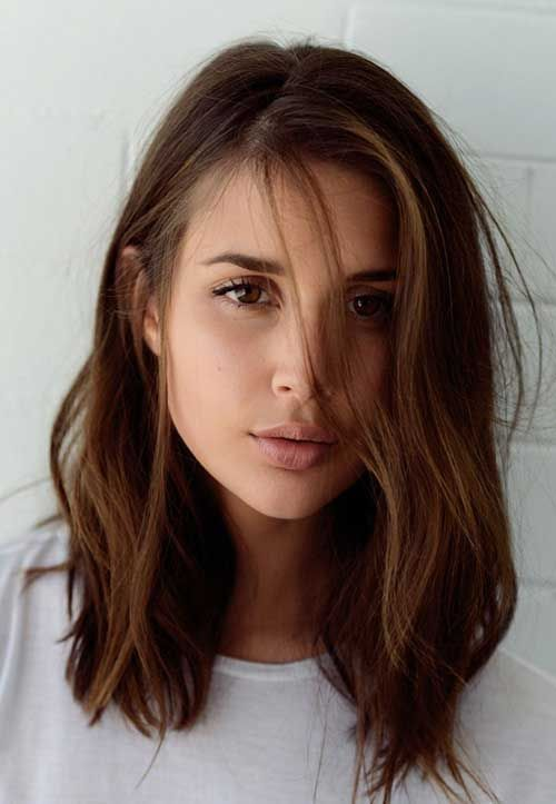 Great Short Medium Hairstyles for Women 2018 / 2019 - Styles Art