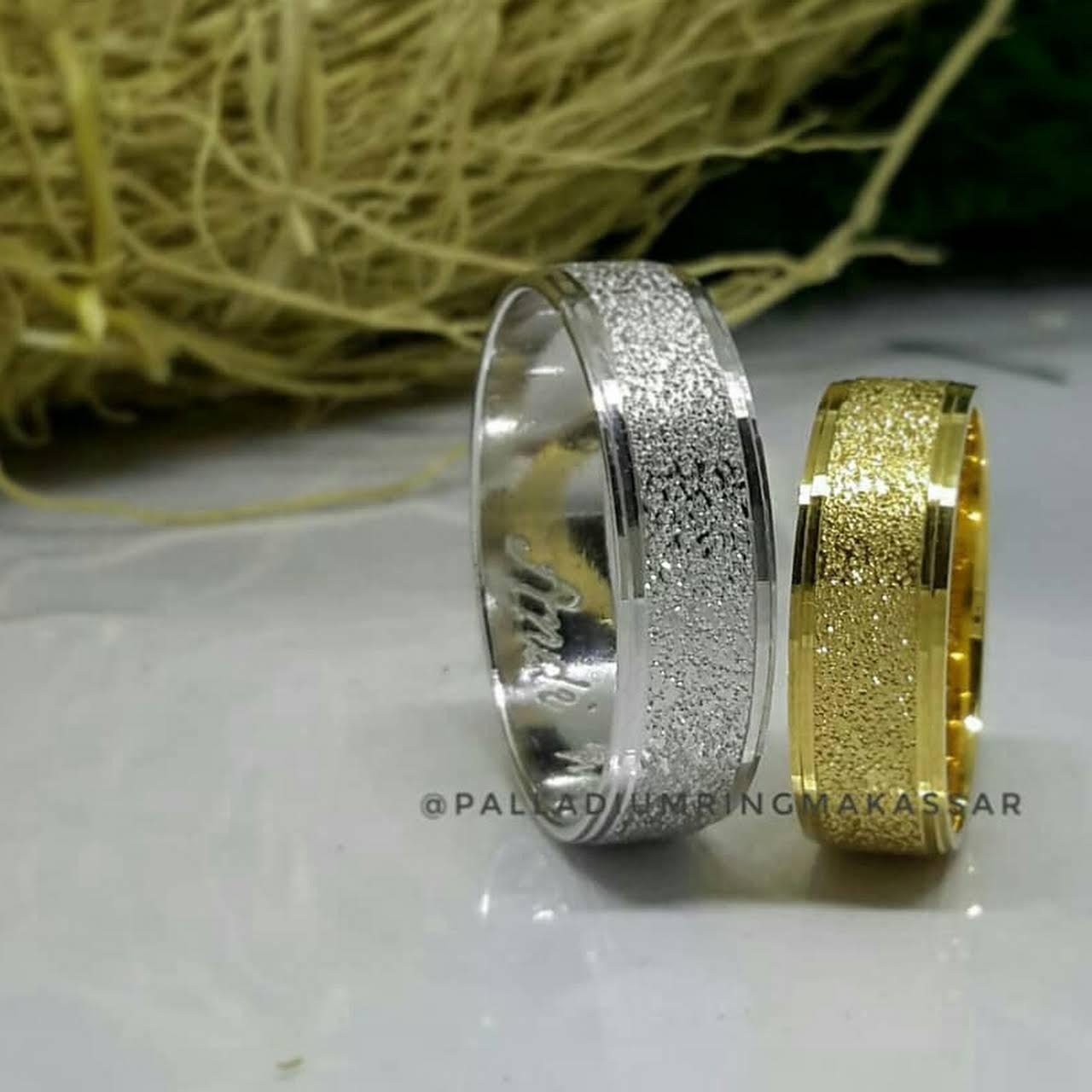 Cincin Palladium Makassar Jewelry Store Couple Paladium Kawin Emas Platinum