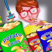 Potato chips factory for kids-Kids Factory Game