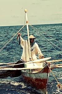 Fisherman around Puerto Princesa