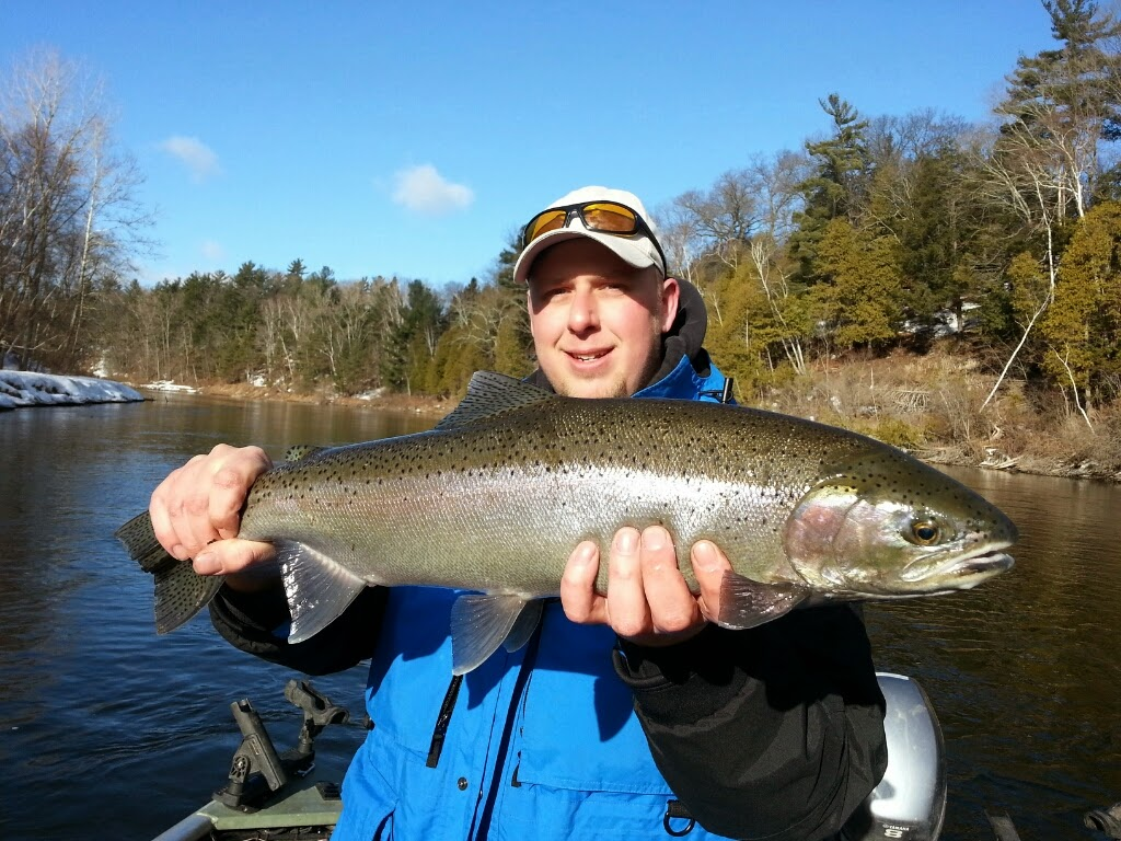 Float Fishing for Steelhead on the Muskegon River