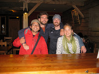 The Boulder crew reunites in Puerto Natales
