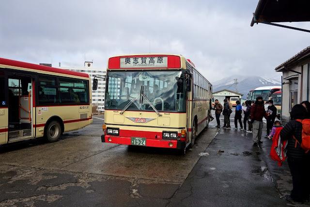 長電バス 奥志賀高原