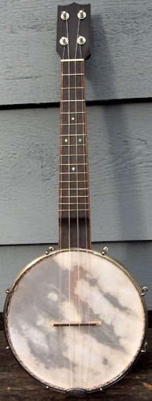 Noel Booth Old Fiddle Road Banjolele Banjo Ukulele