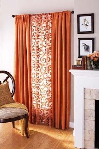 美しいカーテンのデザイン