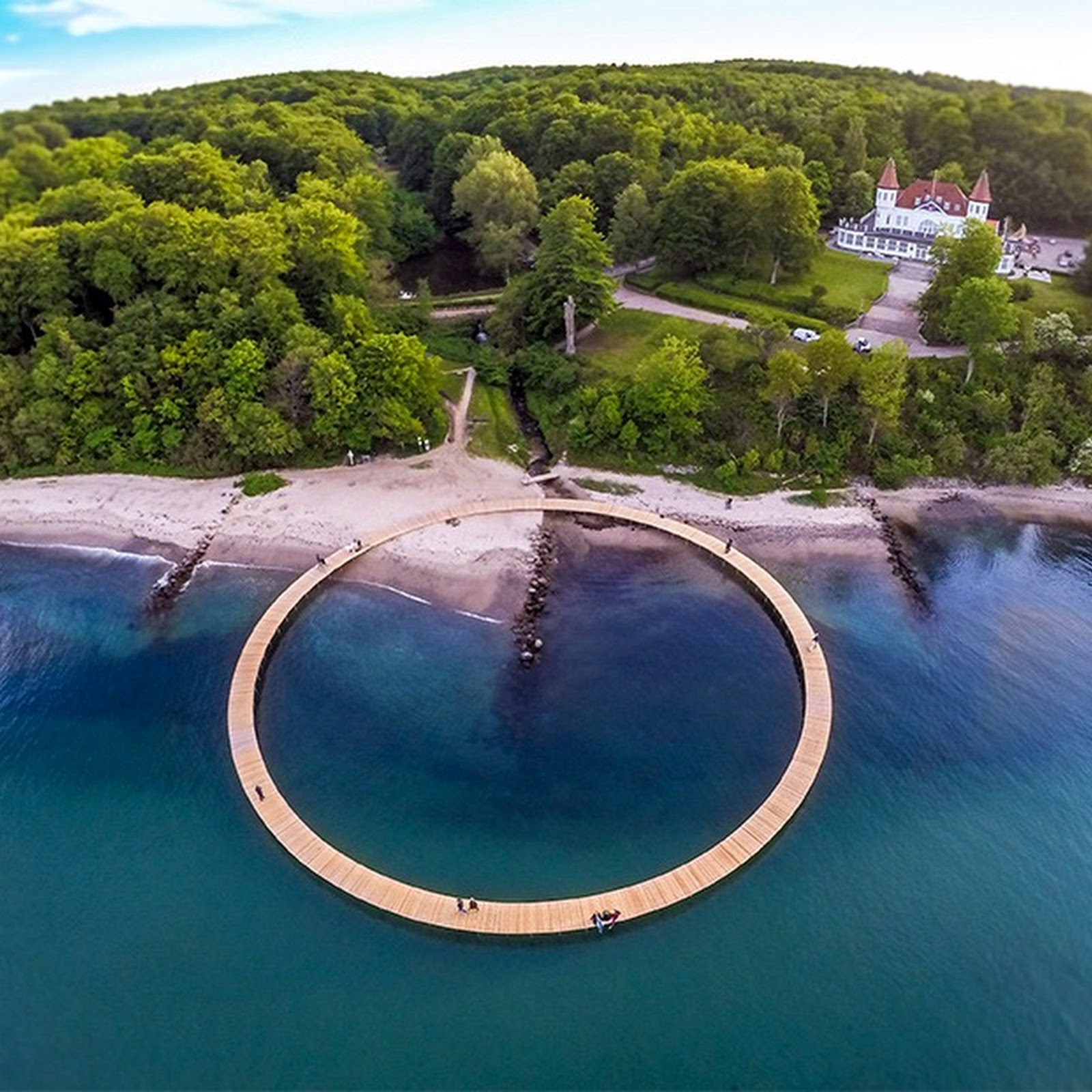 The Infinite Bridge in Aarhus, Denmark