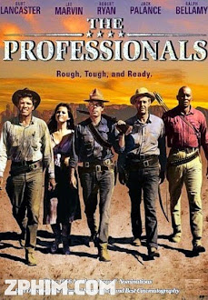 Những Tay Chuyên Nghiệp - The Professionals (1966) Poster