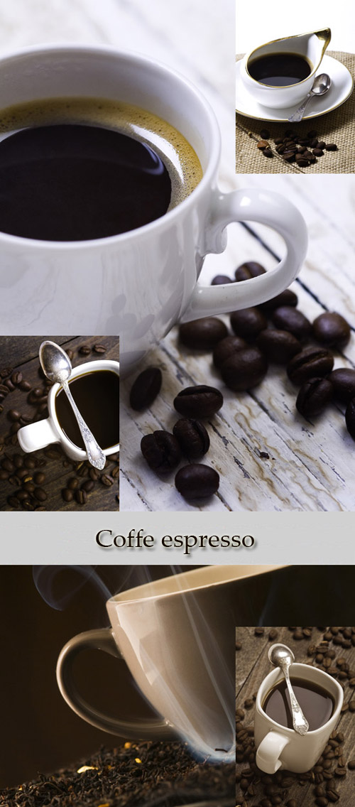 Stock Photo: Coffe espresso
