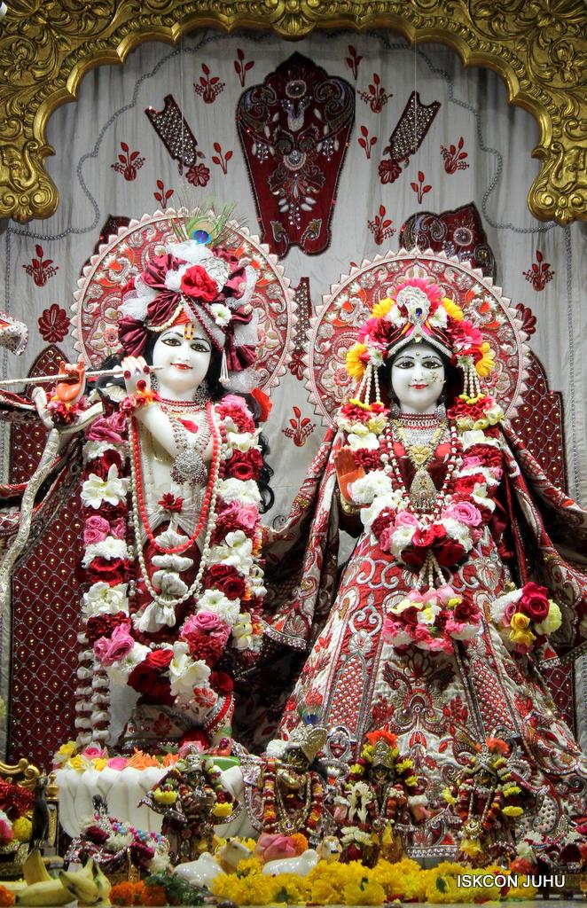ISKCON Juhu Sringar Deity Darshan on 30th Sep 2016 (4)