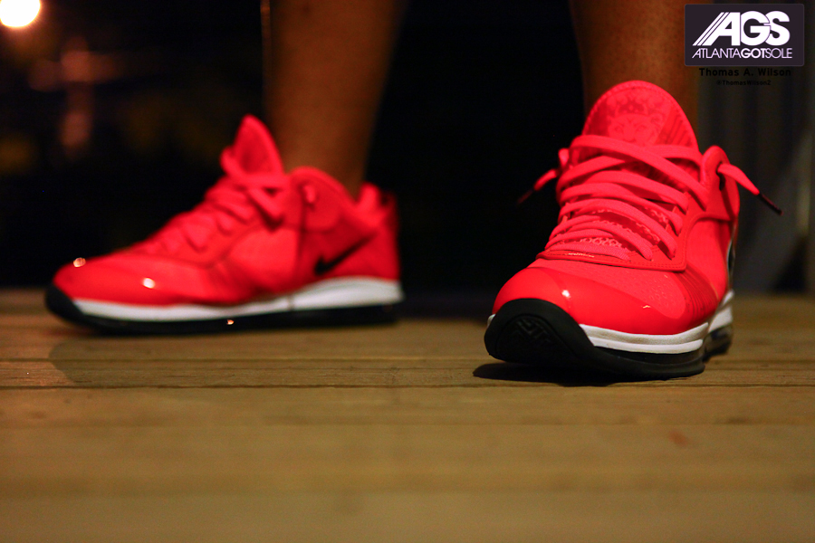 lebron 8 low red - photo #48
