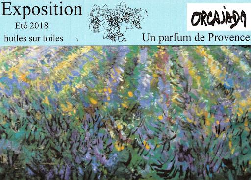 Exposition de Benjamin Orcajada artiste peintre en Provence
