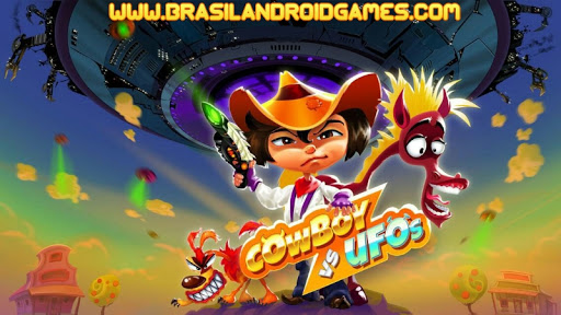 Cowboys vs UFO: Alien shooter Imagem do Jogo