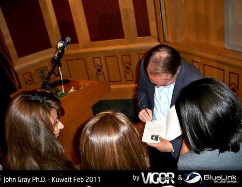 John Gray Phd Kuwait Feb 2011 05, Dr Gray
