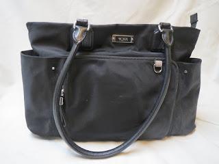 Tumi Black Shoulder Bag