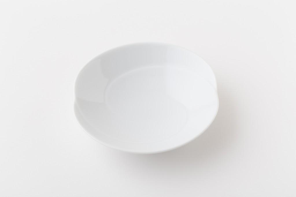 Tomoe Porcelain Shio-bachi Salt Spice Serving Plate