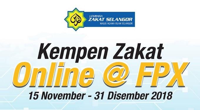 Kempen Zakat Online@ FPX Oleh Zakat Selangor