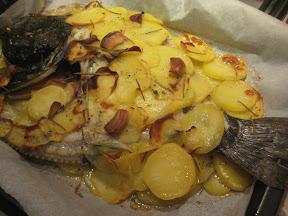STEP 6: rombo in crosta di patate al forno