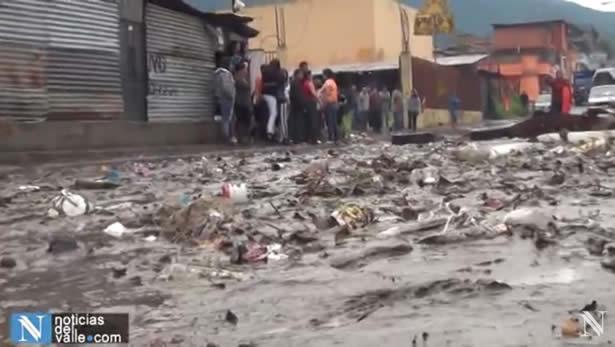Granizo e inundaciones afectaron a varios municipios del departamento