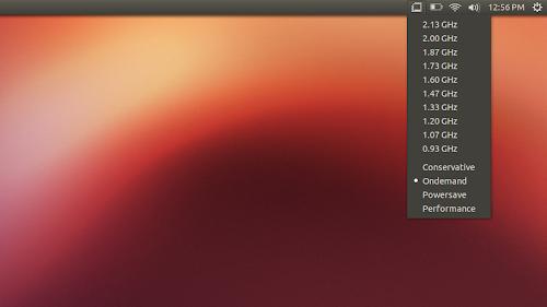 Indicator Cpufreq su Ubuntu