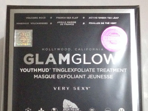 [Review] Glam Glow Youthmud Tinglexfoliate Treatment