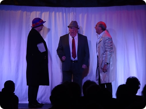 Geoff Allen – Alan Hurst and Fred Allman perform a skit called The Box