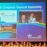 President at World JCI Conference