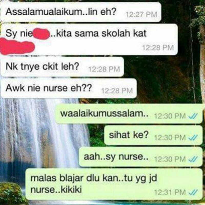 Perlu ke nak viral perbualan whatsapp ?