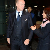 WWW.ENTSIMAGES.COM -   Gary Kemp and Lauren Barber   arriving at        Mondrian London - hotel launch party at Mondrian London October 9th 2014New London hotel, designed by Tom Dixon and owned by Morgans Hotel Group, hosts VIP evening to mark its launch on London's South Bank in the iconic Sea Containers building next to the OXO Tower. The hotel features 359 rooms and suites, a spa, meeting spaces, riverside bar and brasserie.                                                Photo Mobis Photos/OIC 0203 174 1069