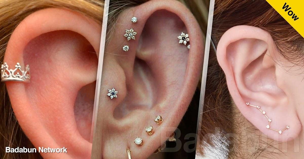 piercings oreja aretes moda accesorios mujeres chicas estilo ideas
